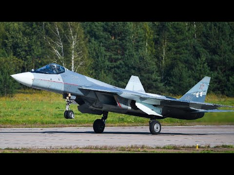 Look, the Action of the Sukhoi...