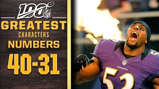 100 Greatest Characters: Numbers 40-31 | NFL 100 by NFL Films