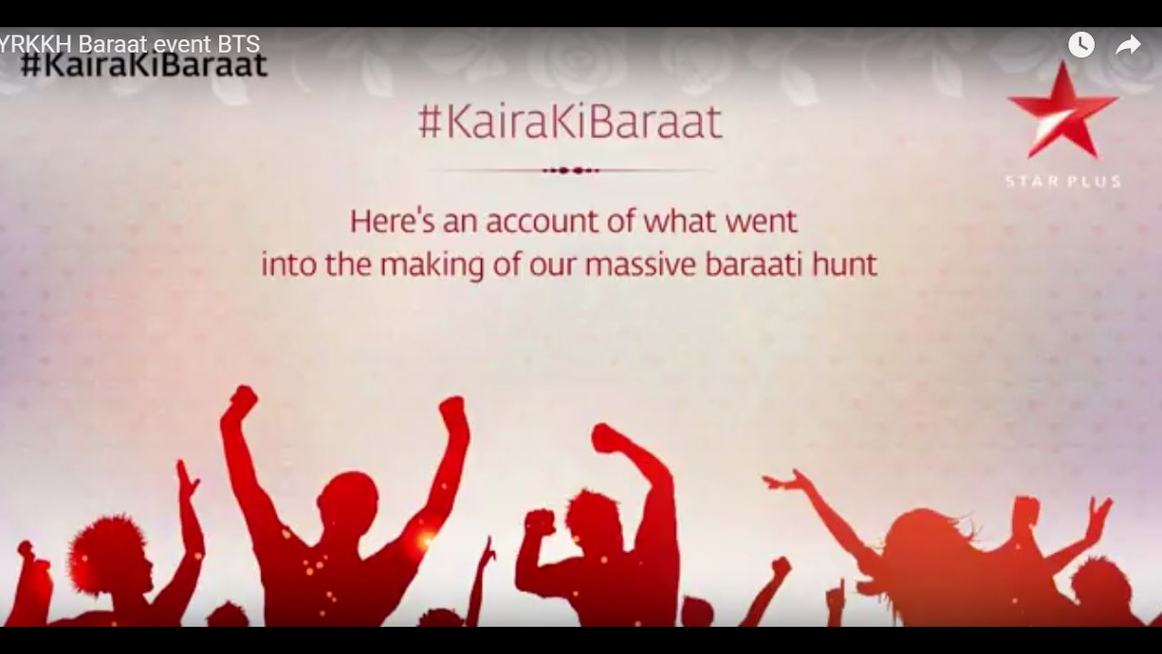 Yeh Rishta Kya Kehlata Hai | #KairaKiBaraat- The Making