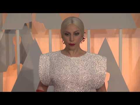 Oscars: Lady Gaga Red Carpet (2015)