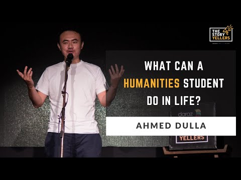 Mr.Ahmed Dulla (The Factory Team) : What can a Humanities student do in life? : The Storyyellers