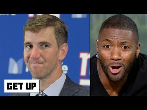 Video: Eli Manning will be a Hall of Famer, but he's not a good QB - Ryan Clark gets fired up | Get Up