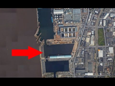 Everton New Stadium; Take A Look Around Site At Bramley Moore Dock