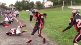 North Bay (ON) Canada  City new picture : High school football action clips in North Bay, Ontario, Canada