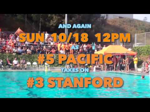 PROMO: Pacific Men's Water Polo vs. UC Irvine & Stanford