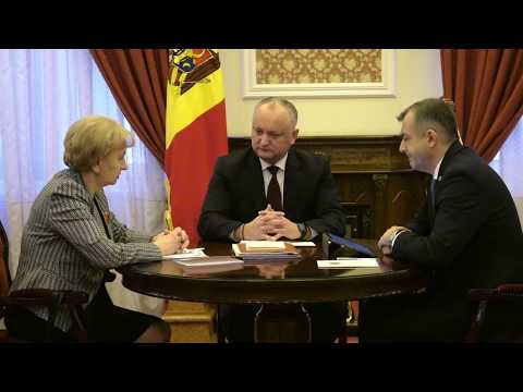 Президент, Председатель Парламента и Премьер-министр провели еженедельное совещание