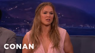 Video Ronda Rousey On Her Ideal Man  - CONAN on TBS MP3, 3GP, MP4, WEBM, AVI, FLV Juni 2018