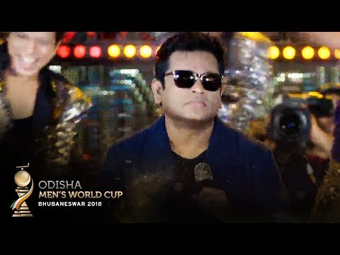 A.R Rahman Performs The Official Song For The Odisha Men's Hockey World Cup Bhubaneswar 2018!