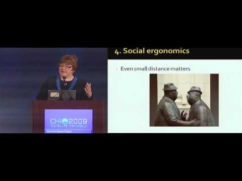 CHI 2009 Opening Plenary: Judith S. Olson - Even Small Distance Matters
