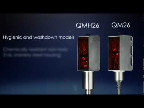 The QM26 and QMH26 Photoelectric Sensors