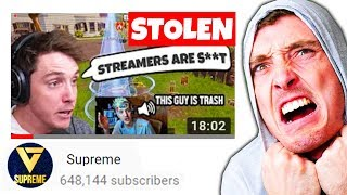 This YouTuber STOLE MY VIDEOS