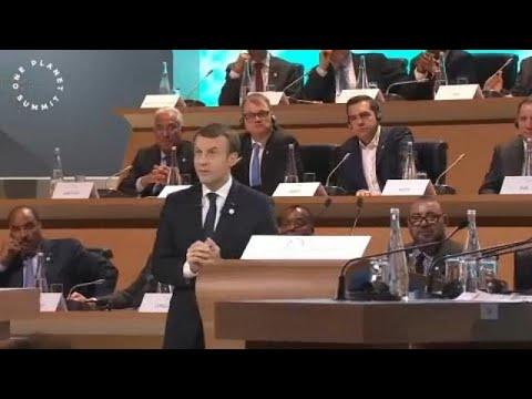 Ε. Μακρόν: «Χάνουμε τη μάχη κατά της κλιματικής αλλαγής»