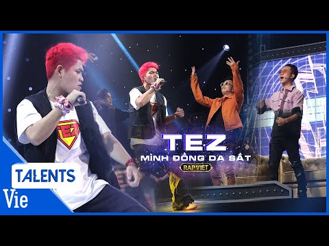 TEZ tung cú twist FAST FLOW bao đỉnh khiến khán giả ngỡ ngàng tại vòng Bứt phá Rap Việt