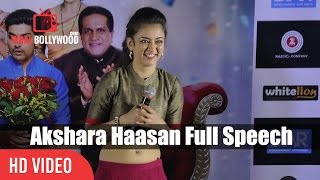 Video Akshara Haasan Full Speech | Laali Ki Shaadi Mein Laddoo Deewana Trailer Launch MP3, 3GP, MP4, WEBM, AVI, FLV Desember 2017