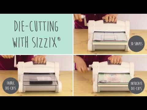 Sizzix Big Shot Plus Starter Kit With My Life Handmade - Sizzix