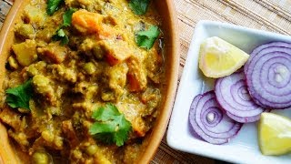 Korma (Hotel Style) / Healthy Vegetable Korma