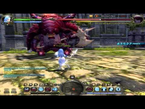 Dragon Nest - Minotaur's nest solo - FU 33lvl