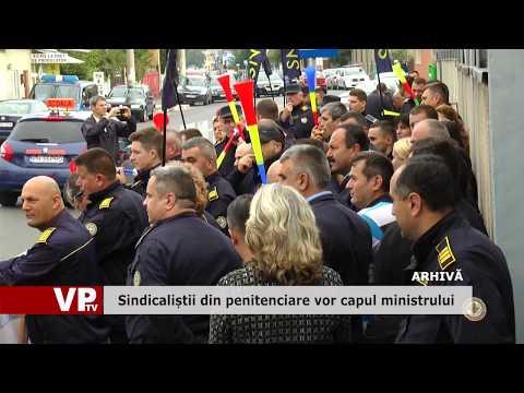 Sindicaliștii din penitenciare vor capul ministrului