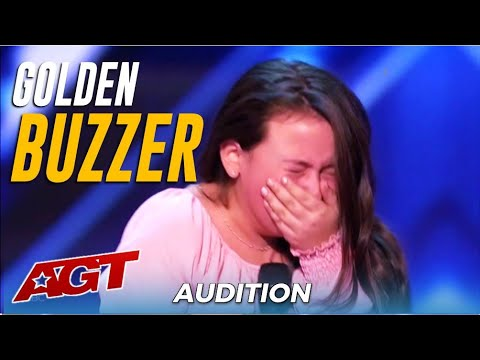 Roberta Battaglia: 10-Year-Old Canadian Girl With SHOCKING Voice! Sofia Vergara's GOLDEN BUZZER! 🇨🇦