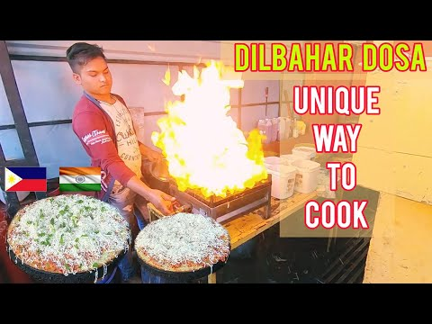 FILIPINO MARRIED TO INDIAN WOMAN. Dilbahar famous DOSA the unique way too cook in Gujarat India.