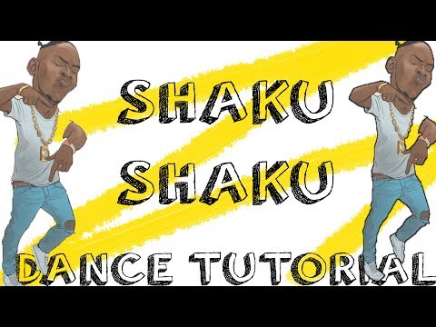 HOW TO DO THE SHAKU SHAKU DANCE (TUTORIAL) | JustinUg