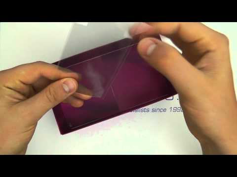 Sony Ericsson Xperia Arc S (LT18i) Unboxing - Midnight Blue