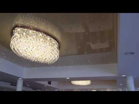 Zestaw Planetarium, montowanie sufitów i oświetlenia, ładne sufity