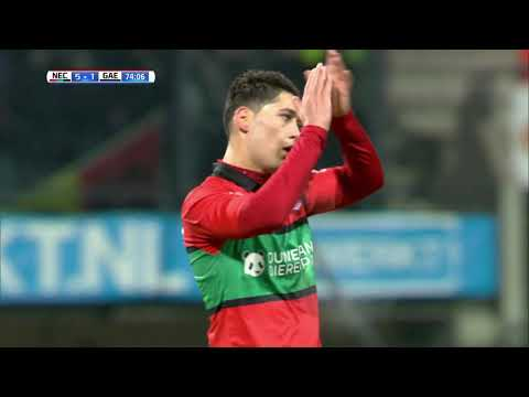 Samenvatting N.E.C. - Go Ahead Eagles (12-01-2018)