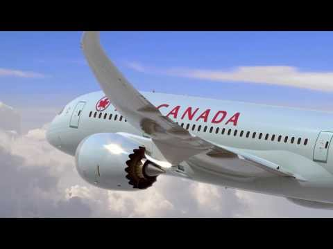 Air Canada's amazing Dreamliner interiors