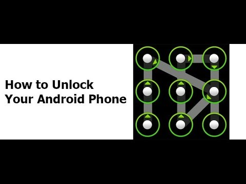 How To Unlock Android Pattern Or Password, No Software No Root Needed
