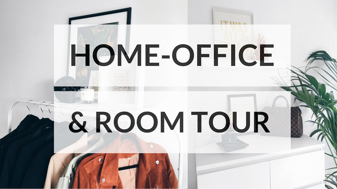 MY ROOM & HOME OFFICE TOUR | Ciara O'Doherty