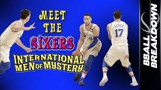 The SIXERS International Men Of MYSTERY by BBallBreakdown