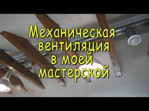 Вытяжка в столярной мастерской своими руками