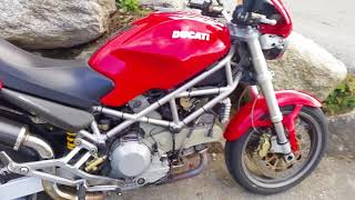 7. Ducati Monster 1000S i.e 2004 Start up