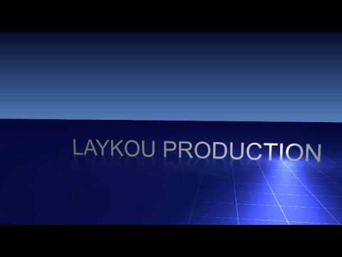 Laykou - Laykou production - 3D blue logo with reflection. Created in After Effects.