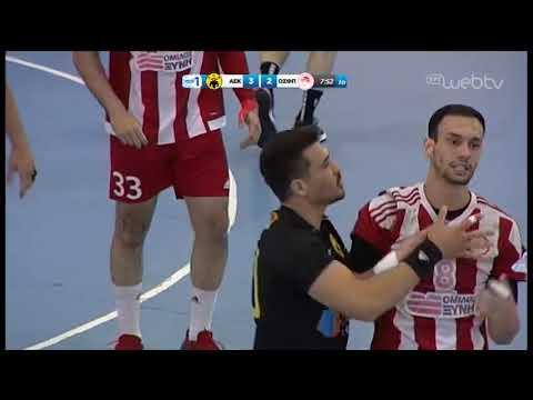 Handball Premier: ΑΕΚ – ΟΛΥΜΠΙΑΚΟΣ 25-22 | 21/05/2019 | ΕΡΤ