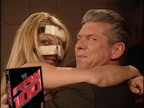 Vince McMahon and Trish Stratus getting a little sexual Shane McMahon returns