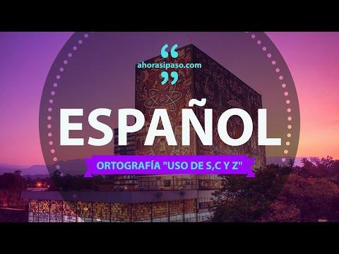 Guía UNAM | Español - Ortografía