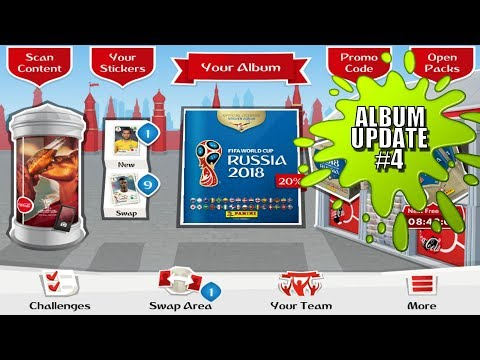 ⚽ NEW FREE CODES & PACK OPENING !! | Panini FIFA WORLD CUP 2018 STICKER ALBUM  ⚽ VIRTUAL ONLINE!