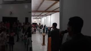culto muito forte aqui na igreja assembléia de Deus sal da terra ,como tema :quente barba