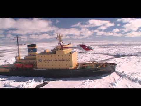 Arctic icebreaking with a polar legend