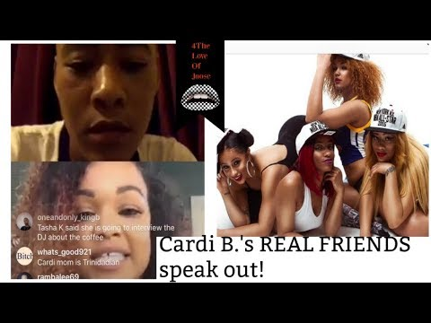 Cardi B's REAL FRIENDS speak OUT! + ACTUAL RECEIPTS!