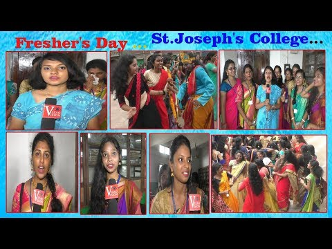 St.Joseph's College For Women Fresher's Day Opinions in Vizag Vision Visakhapatnam...