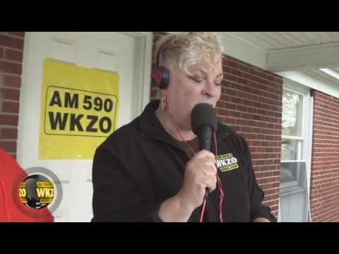 WKZO morning show host Lori Moore raised $3768 for the American Red Cross relief efforts for the Moore Oklahoma tornado victims.