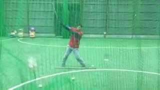 「横向きティーバッティング」 野球教室(ブリスフィールド東大阪 平下コーチ)