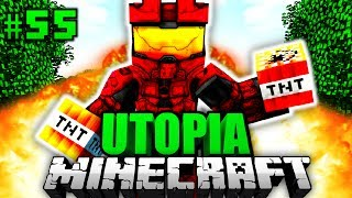 ER ist SPRENGSTOFF EXPERTE?! - Minecraft Utopia #055 [Deutsch/HD] Video