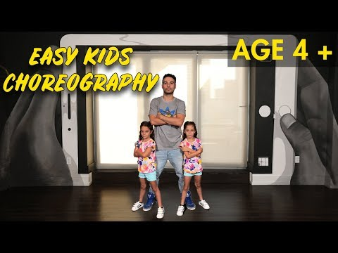Easy Kids Choreography - (Hip Hop Dance Tutorial AGES 4+)  | MihranTV