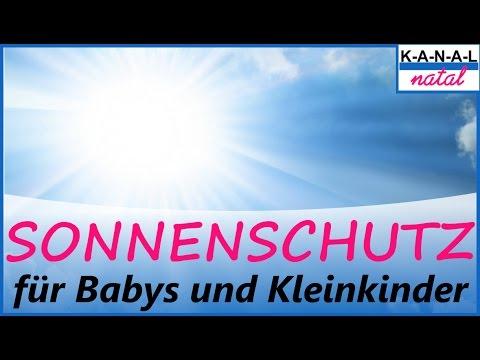 Sonnenschutz für Babys und Kinder - UV-Schutz für Babys und Kinder