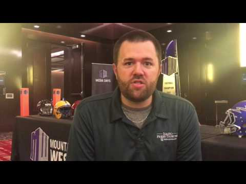 Previewing Mountain West Media Days with beat writer B.J. Rains (видео)