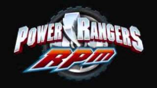 Power Rangers R.P.M 4/4  - Theme Song(Official)